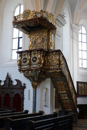 Parish church and pilgrimage church Marys Birth, Neukirchen near Heiligenblut, Bavaria, Germany