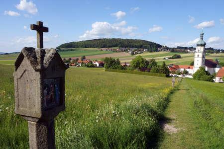 parish: Parish church and pilgrimage church Marys Birth, Neukirchen near Heiligenblut, Bavaria, Germany