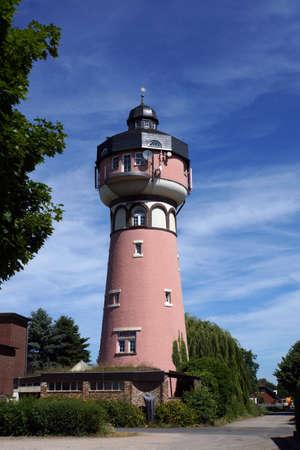 Water tower Wissersheim, Germany, North Rhine-Westphalia, Germany