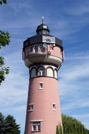 Watertower Wissersheim, Noervenich, North Rhine-Westphalia, Germany Banco de Imagens