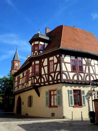 Curia Starkenburg, Aschaffenburg, Bavaria, Germany,