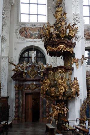 Monastery church Saint Assumption of Mary of the former Cistercian Abbey of Neuzelle, Brandenburg, Germany