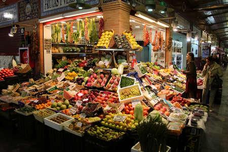 Market hall Mercado de Tirana, Sevilla, Andalusia, Spain
