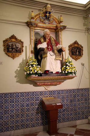 Star Chapel Capilla de la Estrella, Seville, Andalusia, Spain 스톡 콘텐츠