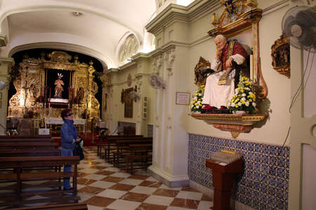 Star Chapel Capilla de la Estrella, Seville, Andalusia, Spain Editorial