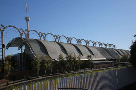 Energy Pavilion of the World Expo 1992, Sevilla, Andalusia, Spain