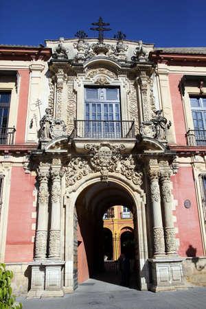 대주교 - Palacio Arzobispa, 세비야, 안달루시아, 스페인 스톡 콘텐츠 - 92855670