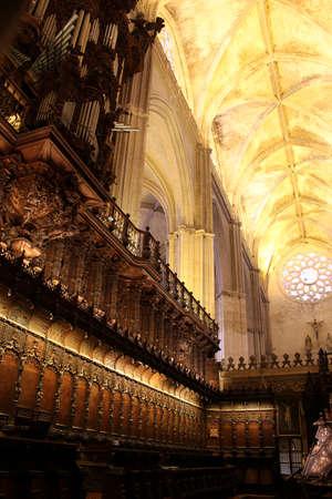 Cathedral Santa Mar?a de la Sede, Sevilla, Andalusia, Spain