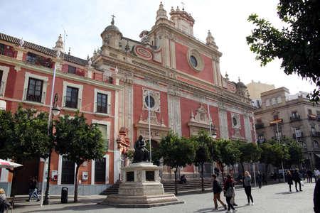 Collegiate Church of the Divine Savior Iglesia del Salvador, Seville, Andalusia, Spain