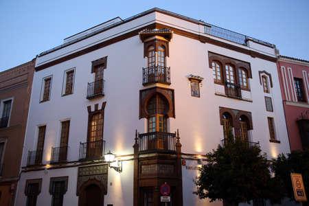 Maurischer Artstadtwohnsitz, Sevilla, Andalusien, Spanien