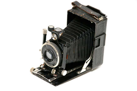 old plan film camera as decoration - cut out