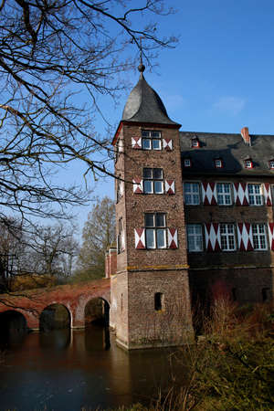 Kuehlseggen Castle Weilerswist, North Rhine-Westphalia, Germany