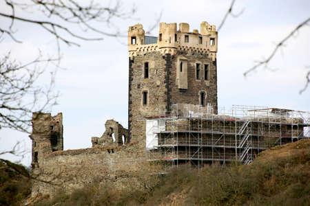 Castle Wernerseck, Kelterhausburg, Ochtendung, Rhineland-Palatinate, Germany Banque d'images - 97497272