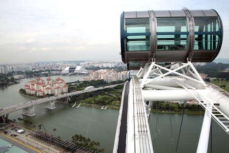 Giant wheel Singapore Flyer, Singapore