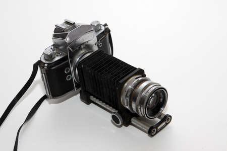 old analog reflex camera Stockfoto