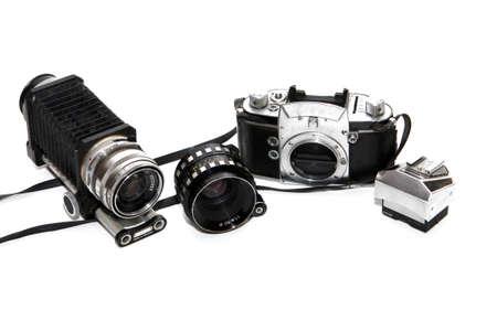 old analog SLR camera