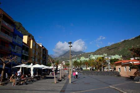 beach in Puerto de Tazacorte, La Palma, Canary Islands, Spain Standard-Bild - 109267095
