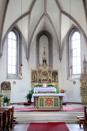 Ursuline Church To the Holy Redeemer, Brunico, South Tyrol, Italy