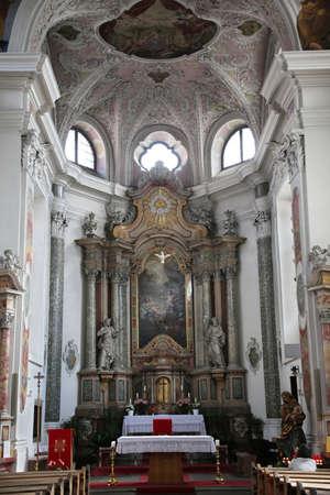 Church of Holy Spirit, Brunico, South Tyrol, Italy