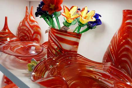 typical Maltese glass art, Malta Stock Photo