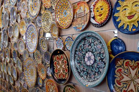 typical Maltese pottery, Malta