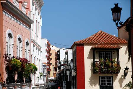 Historic old town of Santa Cruz de la Palma, La Palma, Canary Islands, Spain