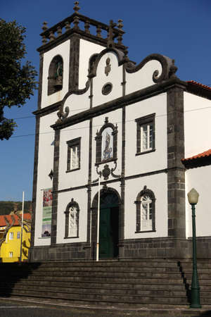Parish church Our Lady of the Conception, Mosteiros, Sao Miguel, Azores, Portugal