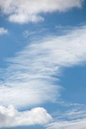Cloud formation in the sky 版權商用圖片