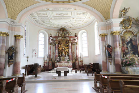 Holy Trinity Church on the mountain of the same name, Spaichingen, Baden-W Éditoriale