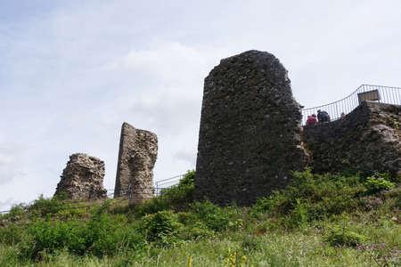 Ruined castle Kronenburg, Dahlem, North Rhine-Westphalia, Germany