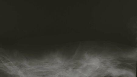 white Fog smoke air overlays 写真素材