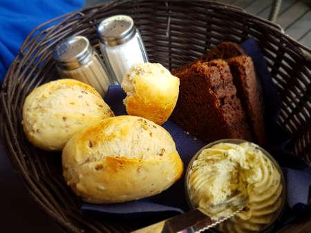 bollos: bread buns