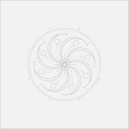 maelstrom: Abstract Aliens Tech Maelstrom Minimal Art Odd Design