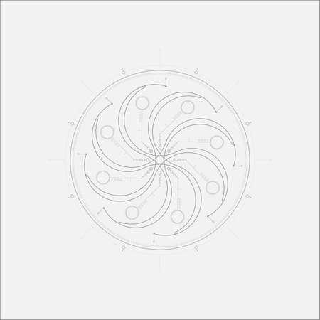 psychics: Abstract Aliens Tech Maelstrom Minimal Art Odd Design