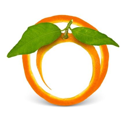 naranjas fruta: Orange marco