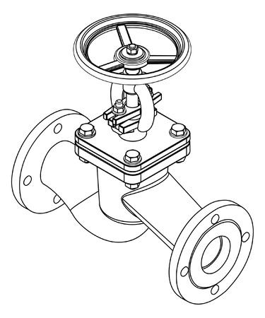 valves: illustration of valve