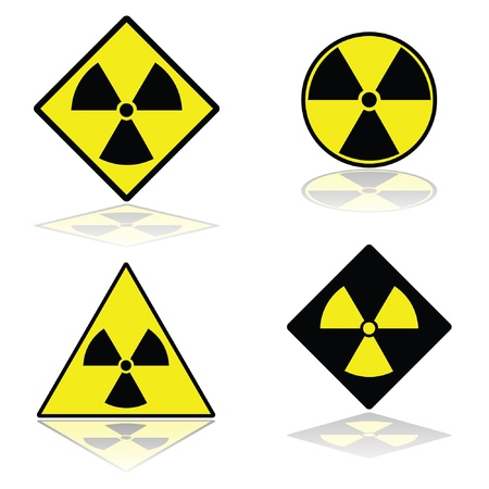 Nuclear signs  Stock Vector - 14823449