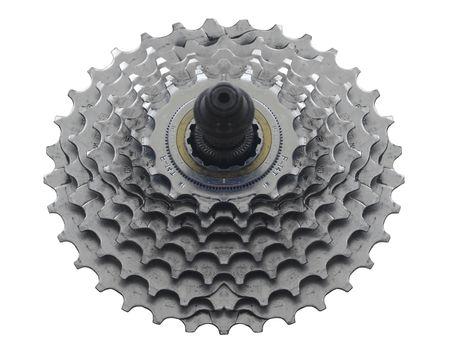 sprocket: Pignoni bicicletta su bianco per Easy Cut-Out