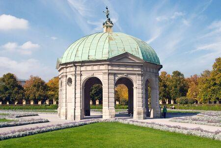 Pavilion at the Hofgarten in Munich Germany