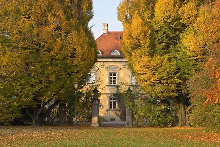 Bamberger House in the Luitpoldpark Munich Germany