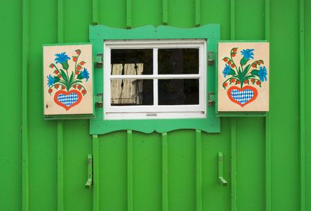 Small Window on Boat House as Cultural Icon Stock Photo - 4775105