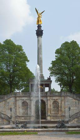 Angel of Peace (Friedensengel) in Munich Stock Photo - 4827392