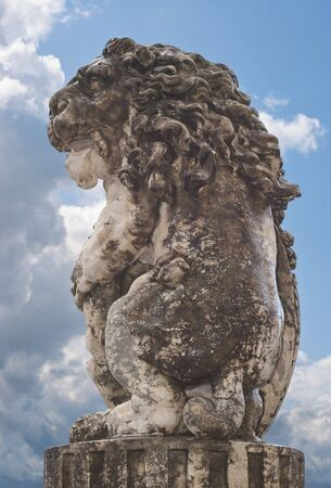A Lion Statue as Symbol of German Culture Stock Photo - 5289646