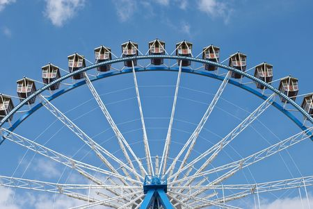 Ferris Wheel at the Octoberfest in Munich, Germany Stock Photo - 5538553
