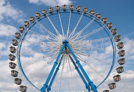Ferris Wheel at the Octoberfest in Munich, Germany photo