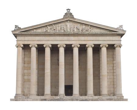 columnas romanas: Arquitectura de griego cl�sico en el estilo italiano