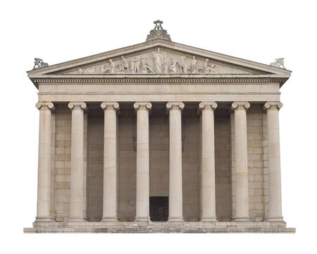 Classical Greek Architecture in the Italian style Stock Photo - 5816733