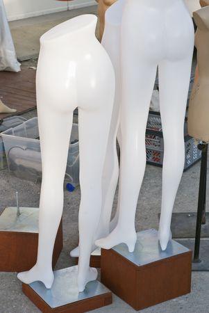 Nude Fashion Mannequin of Female Figure photo