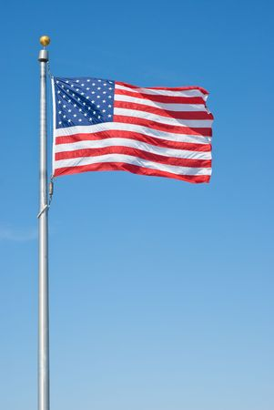 American Flag as Symbol of the American Nation Stock Photo - 6787462