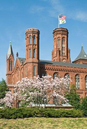 Smithsonian Castle and Information Center of the Smithsonian Institution